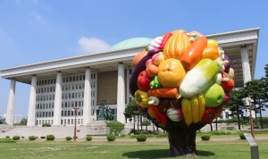 S.Korea fruit tree